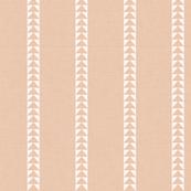 Arrow Stripe in Blush