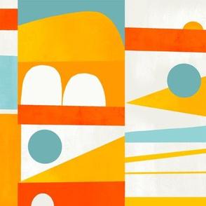 Modern Colorblock - ocean