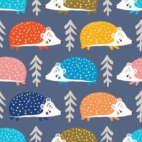 scandi hedgehogs