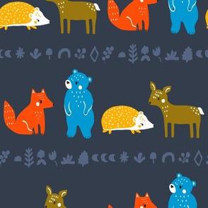 scandi animal stripe