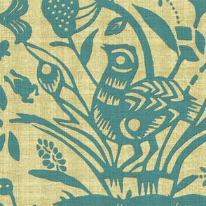 Papercut Garden (Turquoise)inv Jumbo