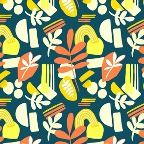 Sunny Papercut Collage