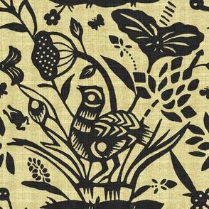Papercut Garden (Black)inv8