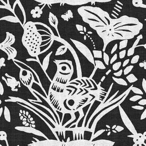 Papercut Garden (BW)8