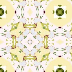 Spring Quilt Pale Iris 5
