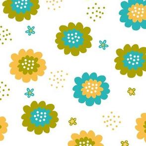 Enchanted Floral - Citron Lemon