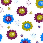 Enchanted Floral - Huckleberry Plum