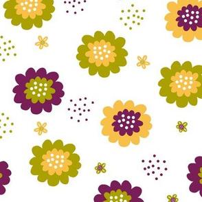 Enchanted Floral - Zesty Plum