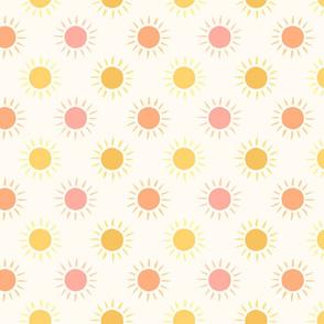 Summer sun (small scale)