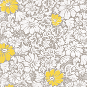 large margarittes on gray linen with yellow spark