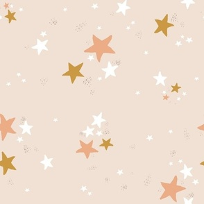 Small Star Dust on blush