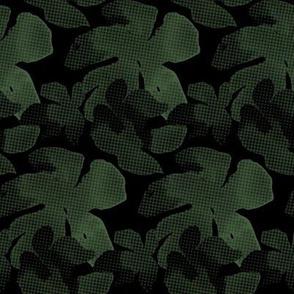 Hawaiian Grunge Dark Camo