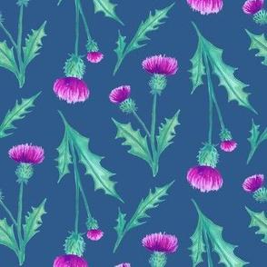 Thistles Blue