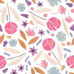 Spring Cut Paper Floral Ditsy