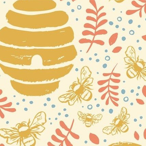Beehive Ballad (spring sunshine palette)