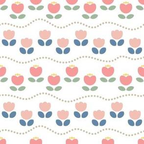 Papercut Tulip Garden