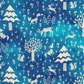cut-out-forest