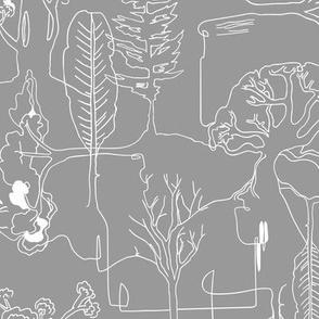 Tree-line (grey) MED
