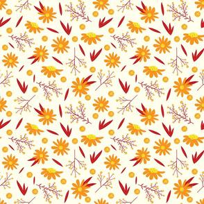 Autumn Daisies