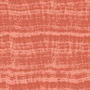 Marble Textured Solid - Terra Cotta Red