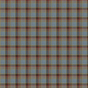 Fraser Darker Weathered Scottish Wool Tartan