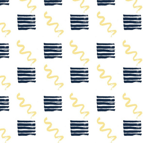 Squiggles & Stripes