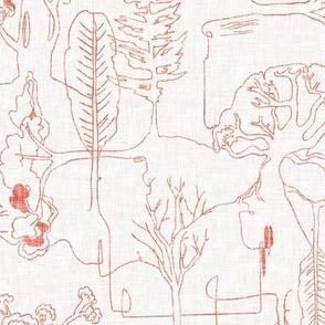 Tree-line (pink) MED