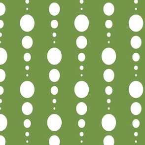 White Dotted Grassy Green