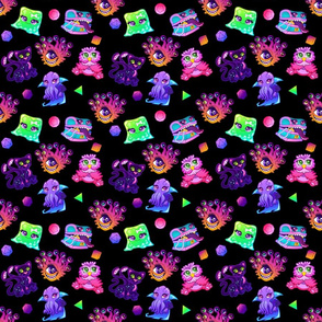 Dungeons and Dragons Cute Kawaii Monsters SMALL