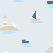Quiet sea - large scale