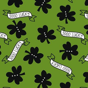 so lucky -  pale olive