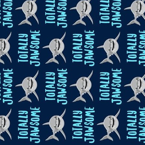 totally jawsome - sharks! (90) - navy - C20BS