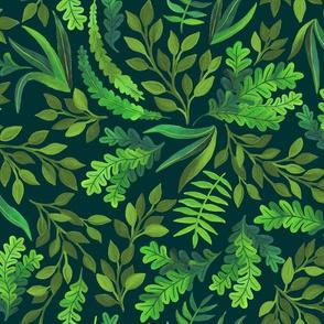 Gorgeous Greens by Angel Gerardo
