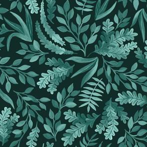 Gorgeous Sage Blue Greens by Angel Gerardo