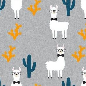 Llama Coordinate | Navy Orange