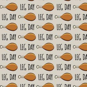 """(3/4"""" scale) turkey legs - Leg day - beige"""