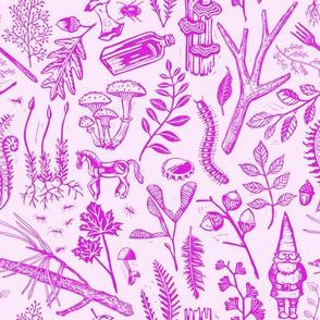 Woodland Walk Fuchsia