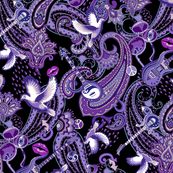 VERY SMALL Paisley Prince Songbook design