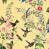 HUMMINGBIRDS - HUMMINGBIRD COLLECTION (YELLOW)