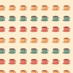 60s coffee cups