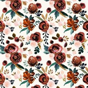 Valentina Rust Rose - cream M