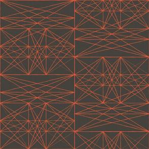 Chalk Strings - ruby - half scale