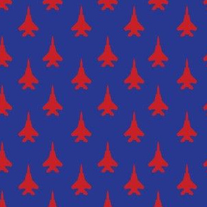 F-15E Strike Eagle - red on blue