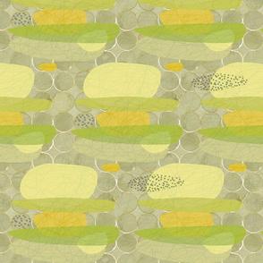 Citrus Pebbles 50 x 40cm