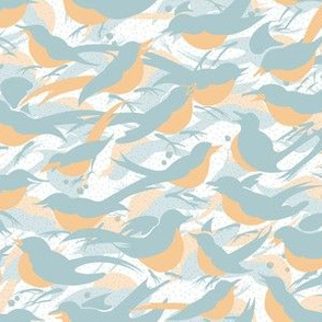 Tiny Birds Morning Chatter | White