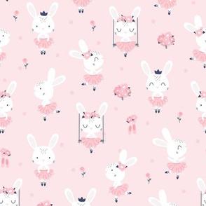 Little Bunny Ballerina - pink