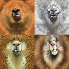 Animal Face masks Llama