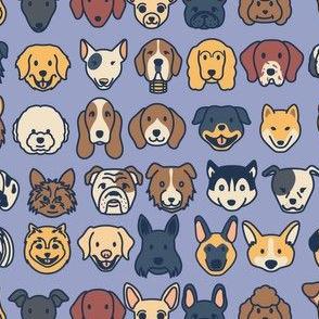 Doggos - Blue