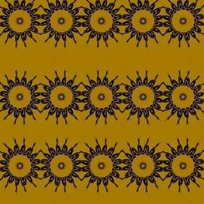 Daisy Chain on Mustard