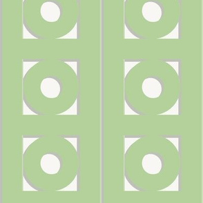Trelliage SOFT GREEN CIRCLE TRIM